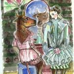 """Вера Гаранина """"Корова, которая стала балериной. Для сборника рассказов Александра Блинова"""""""