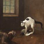 "Иоганн Фридрих Гроот ""Кошка"" 1750-е"