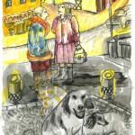"""Вера Гаранина """"Собака, которая жила на небе. Для сборника рассказов Александра Блинова"""""""