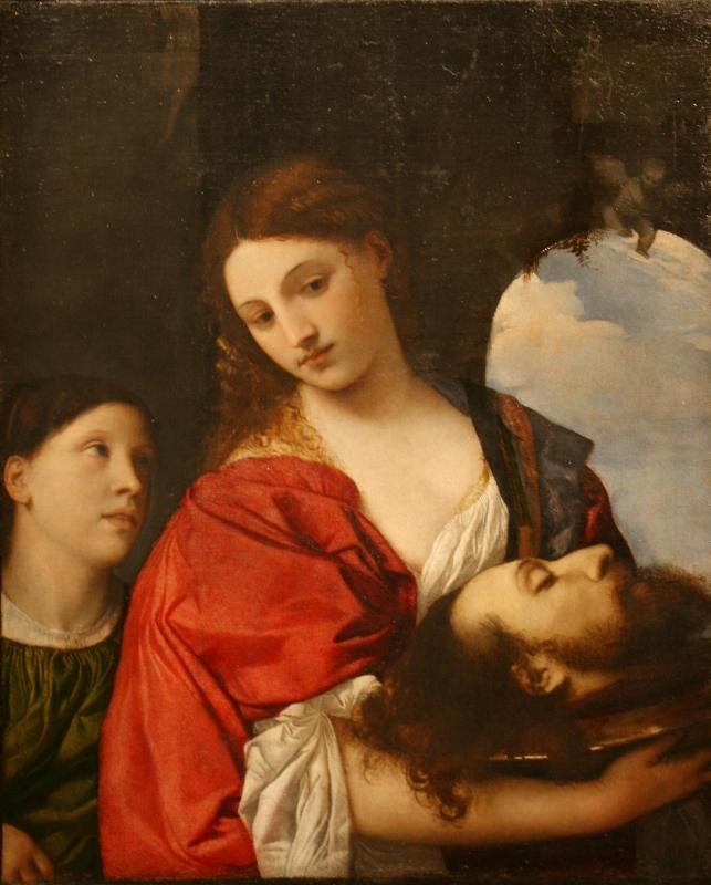 """Тициан Вечеллио """"Саломея"""" Около 1515"""