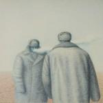 """Гариф Басыров """"Мороз в пустыне. Серия """"Обитаемые пейзажи"""" 1987"""