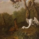 """Иоганн Фридрих Гроот """"Уголок болота"""" 1759"""