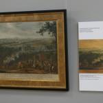 "Никола де Лармессен по рисунку Мартена мл. ""Бой при деревне Лесной"" 1724"