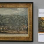 """Шарль Симоно по рисунку Мартена мл. """"Сражение под Полтавой"""" 1724"""