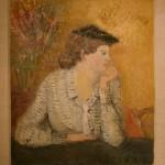 """Антонина Софронова """"Портрет дочери в чёрной шапочке"""" 1938"""