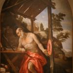 """Паоло Веронезе """"Кающийся Св. Иероним"""" Около 1580"""