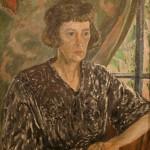"""Ирина Евстафьева """"Портрет матери"""" 1950-е"""