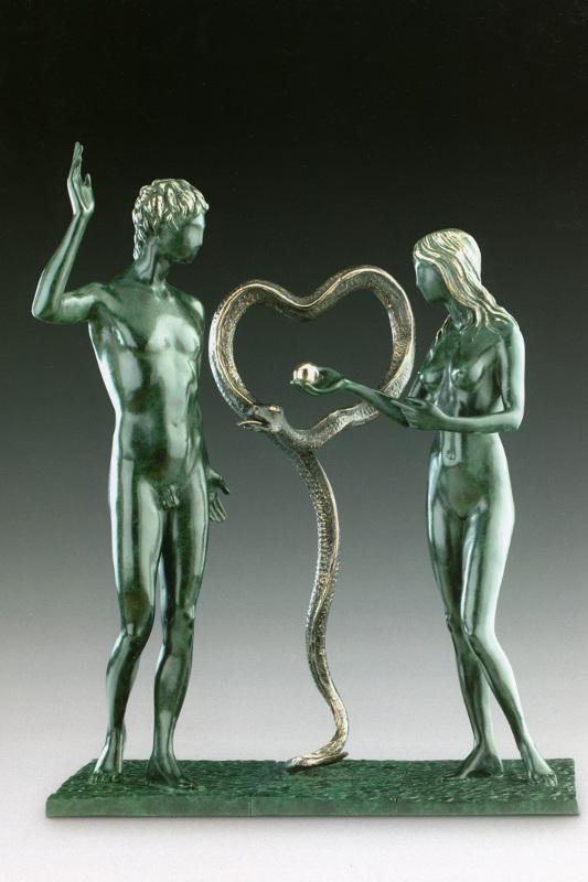 """Сальвадор Дали """"Адам и Ева"""" 1979–1984"""