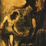 "Якопо Тинторетто ""Крещение Христа"""