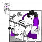 """Елена Блинова """"Иллюстрация к книге Сергея Силина """"Прекратите грызть перила!"""""""