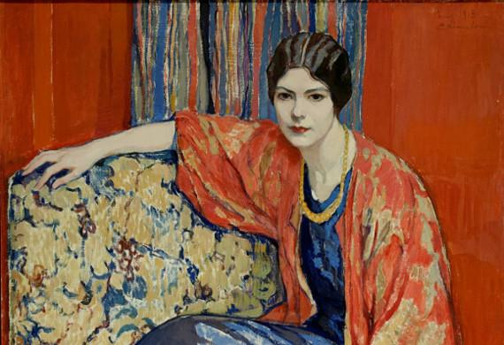 Елена Киселёва «Маруся» 1913 (фрагмент)