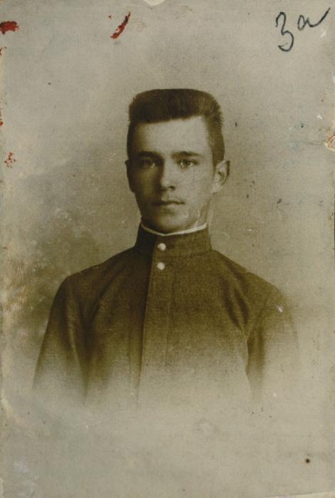 Артур фон Физен – студент МУЖВЗ. 1900