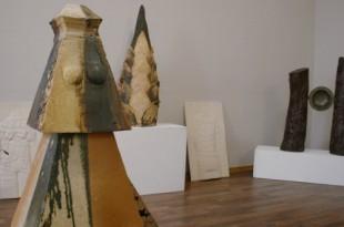 Фоторепортаж с выставки по итогам первого международного симпозиума ландшафтной керамики.