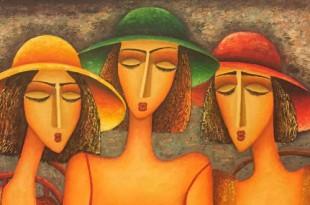 Выставка картин современных грузинских художников из собрания Давида Хевсуриани.