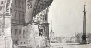 Архитектурные пейзажи Эммануила Бернштейна.