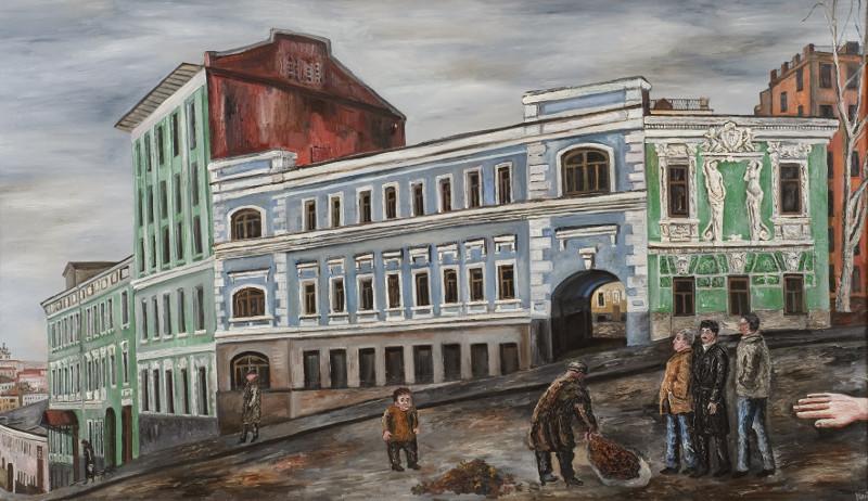 """Наталья Нестерова """"Печатный переулок"""" 1985"""