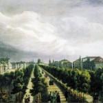 """О.Ж.Б.А. Кадоль """"Москва. Тверской бульвар"""" 1825"""