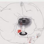 """Дмитрий Пригов """"Из серии """"Инсталляция для бедной уборщицы"""" 1990-е"""