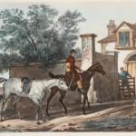 """Ж.П.М. Жазе по оригиналу К. Верне """"Въезд в конюшню"""" Не ранее 1827"""
