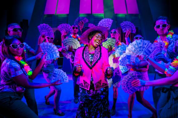 Премьера мюзикла «Привидение» на сцене МДМ.