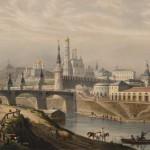 """Л.П.А. Бишебуа """"Общий вид Кремля"""" Середина 1840-х – 1850-е"""