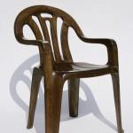 Maarten Baas, Plastic Chair in Wood, 2008