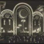 """Евгений Умнов """"Ярмарка на Пушкинской площади"""" Москва, 1 мая 1947"""