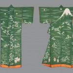 Верхнее кимоно для молодой женщины. Япония, 1830-1870-е