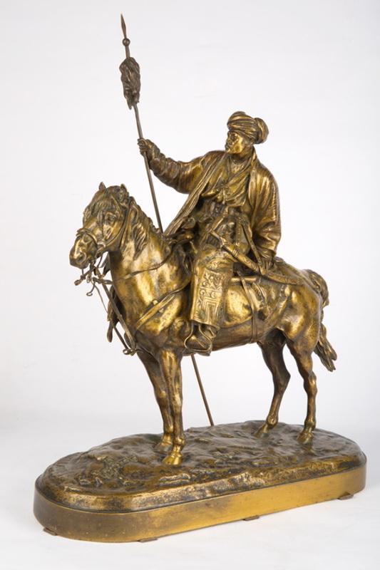 "Е.А. Лансере ""Афганец на лошади"" Модель 1879"