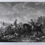 """Ф.Л. Дебюкур по оригиналу К. Верне """"Собаки, потерявшие след"""" 1804"""