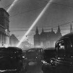 "Евгений Умнов ""На улице Горького"" Москва, конец 1940-х"