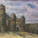 "Е.Е. Лансере ""Закавказье. Крепость"" 1929"