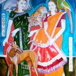 "Маргарита Юркова ""Мир всем! Портрет дочерей Александра Рябичева"""