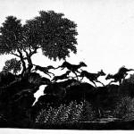 """Ф.П. Толстой """"Сцена охоты"""" 1-я половина 19 века"""