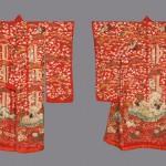 Верхнее кимоно для молодой женщины. Япония, 1850-1880-е
