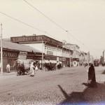 """Неизвестный фотограф """"Улица Тверская"""" 1880-е"""