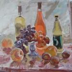 Гаянэ Добровольская «Персики, вино и виноград» 2007