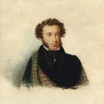 """Александр Клюндер """"Портрет А.С. Пушкина"""" 1832"""
