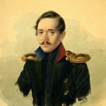 """Александр Клюндер """"Портрет М.Ю. Лермонтова"""" 1838"""