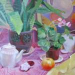 Лидия Лебедева «Натюрморт с пряниками» 2015