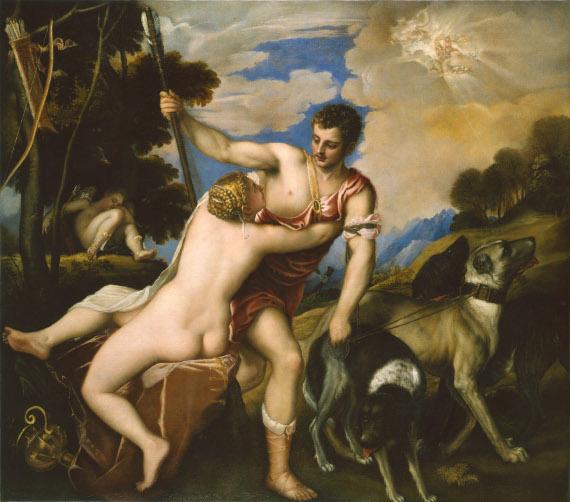 Тициан Вечелио «Венера и Адонис» Москва, благотворительный фонд «Классика»