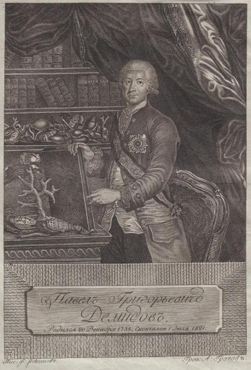 Лекция «Павел Григорьевич Демидов (1738–1821): жизнь для просвещения».