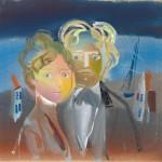 """Г.А.В. Траугот """"Иллюстрация к книге А. Мара """"Кобольды живут в Норвегии"""""""