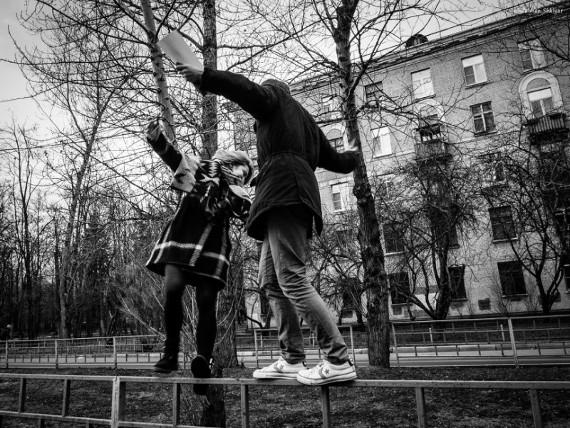 Залман Шкляр «Из серии «Street in B&W» 2015