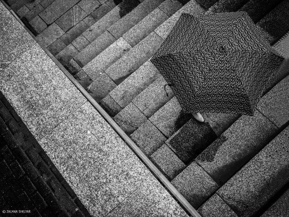Залман Шкляр «Над зонтом, под дождем» Москва, 2015