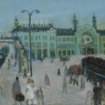 """К.В. Сутягин """"Белорусский вокзал"""" 2013"""