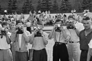 Москва 1957 в фотографиях Леонара Джанадды. Взгляд молодого швейцарца.