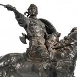 Скульптор Евгений Александрович Лансере и его дети: художники Евгений Лансере и Зинаида Серебрякова, архитектор Николай Лансере.