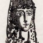 "Пабло Пикассо ""Женщина в Мантилье. Кармен"""