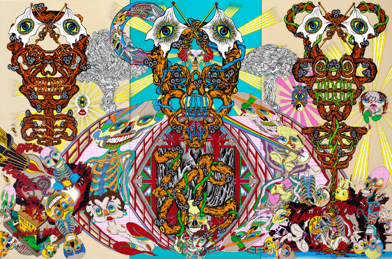 "Кейчи Танаами ""Death Bridge"" 2012"